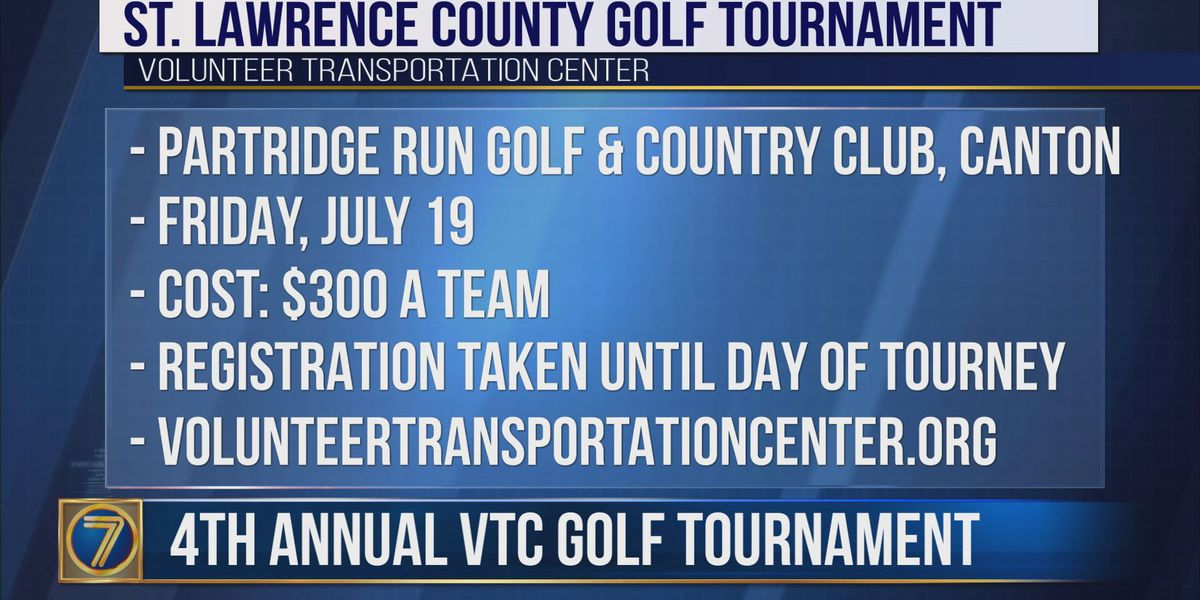 Golf tournament to benefit Volunteer Transportation Center in St. Lawrence County