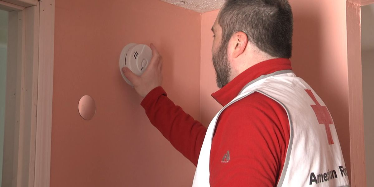 Red Cross spreads the love one fire detector at a time