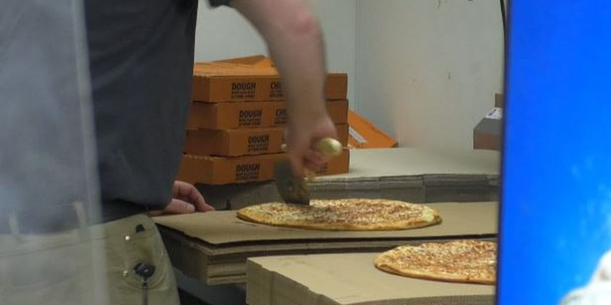 Free pizzas given away in Watertown