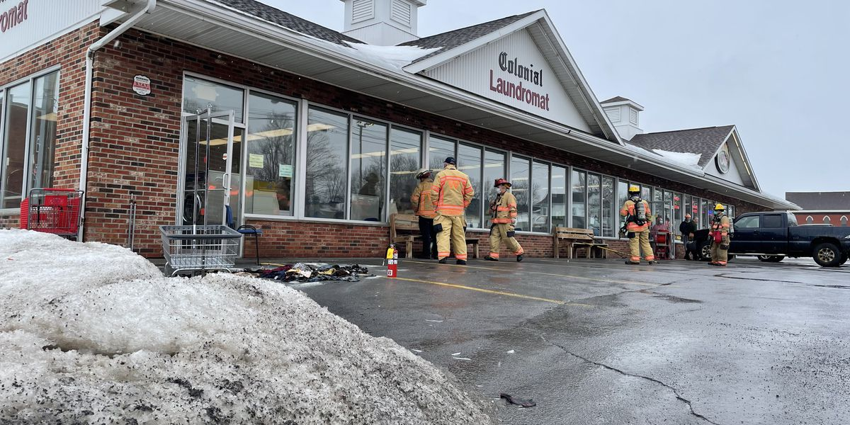 Laundromat in Watertown evacuated Saturday morning after dryer fire