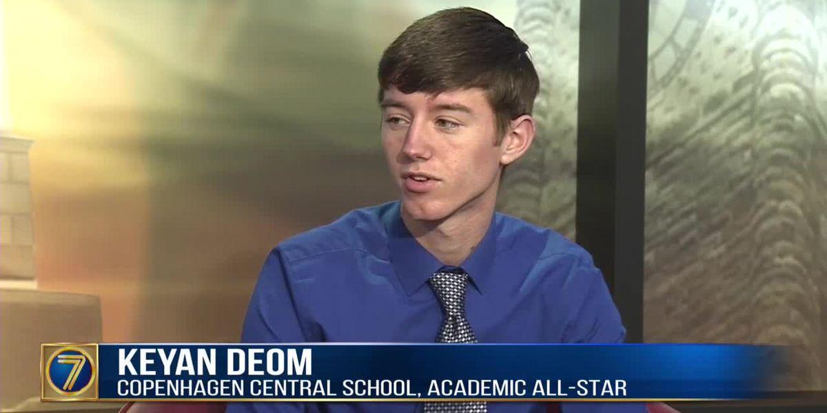 Academic All-Star: Keyan Deom