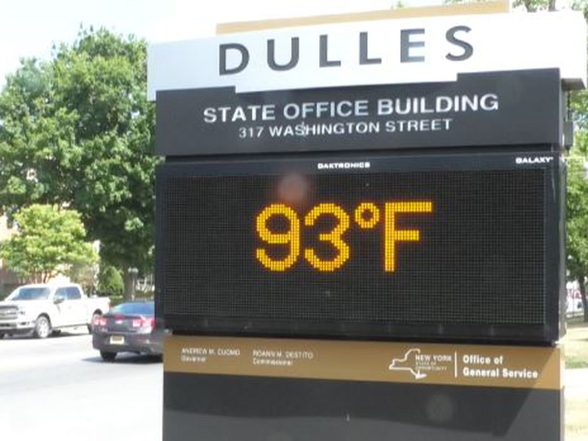 North country sees record-breaking heat