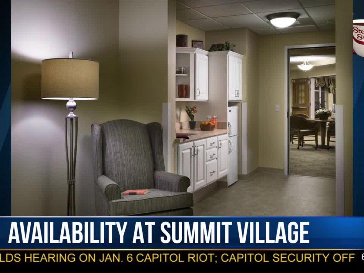 Morning Checkup: Summit Village apartments available