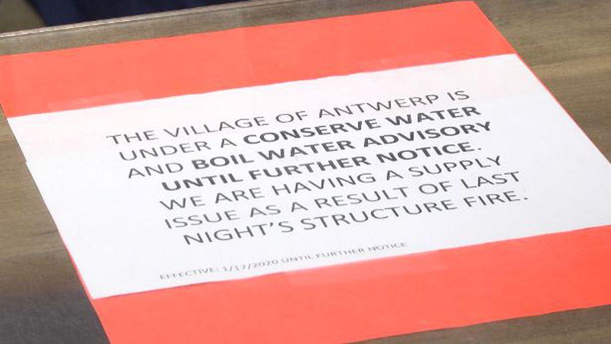 Antwerp's water problems affect villagers