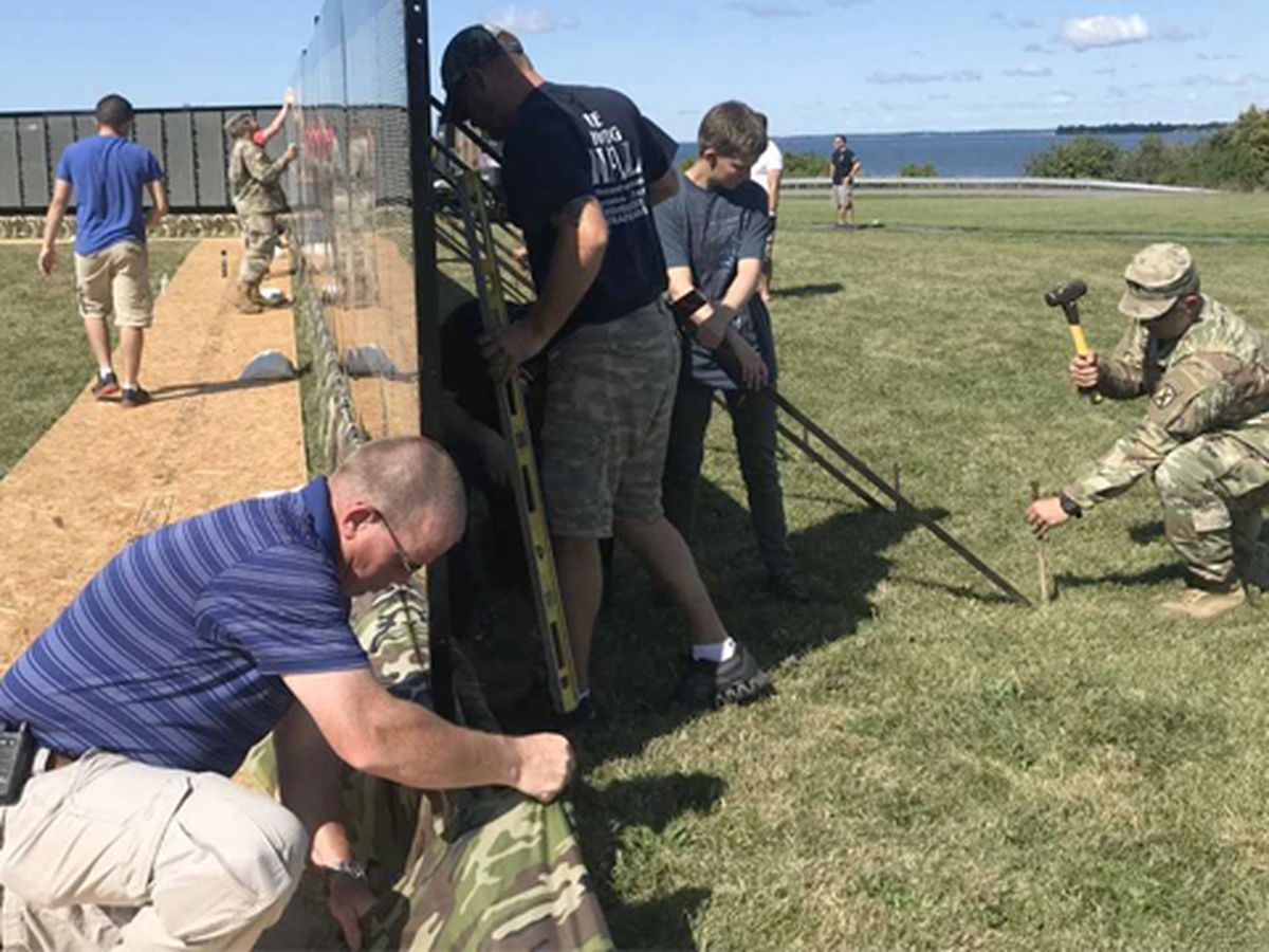 Vietnam Moving Wall arrives in Sackets Harbor