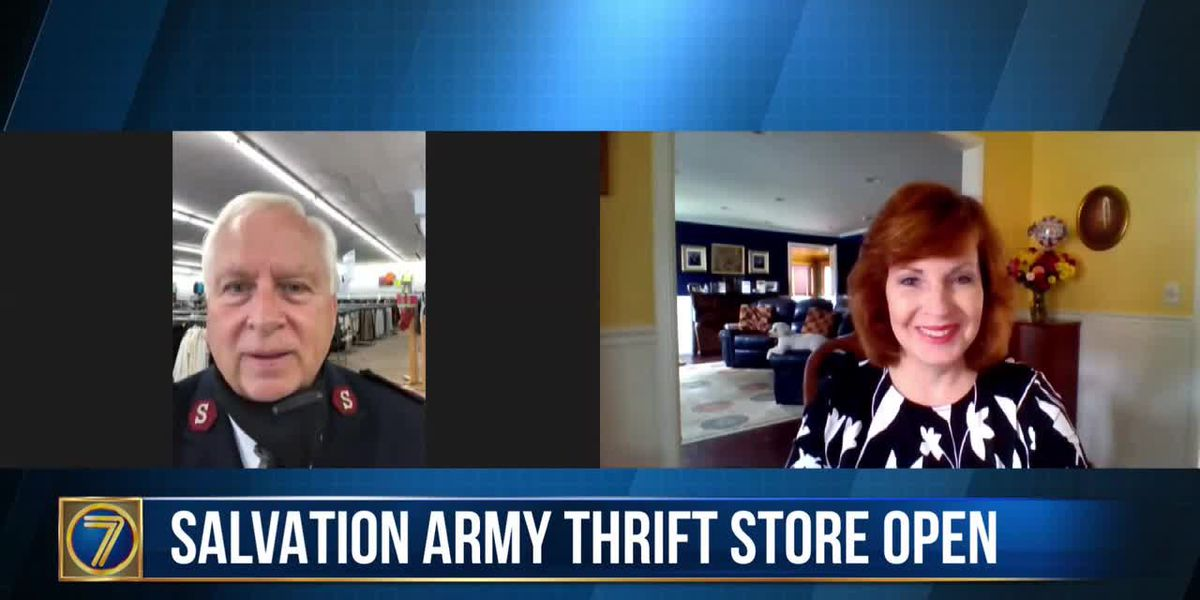 Watertown's Salvation Army thrift store reopens for customers and donations