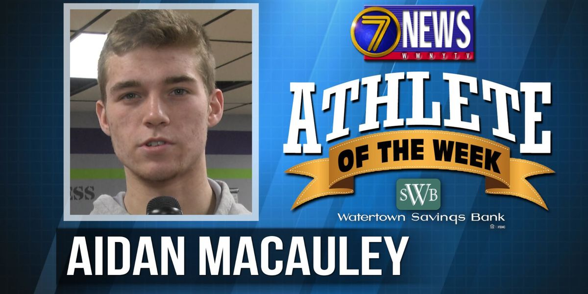 Athlete of the Week: Aidan Macauley