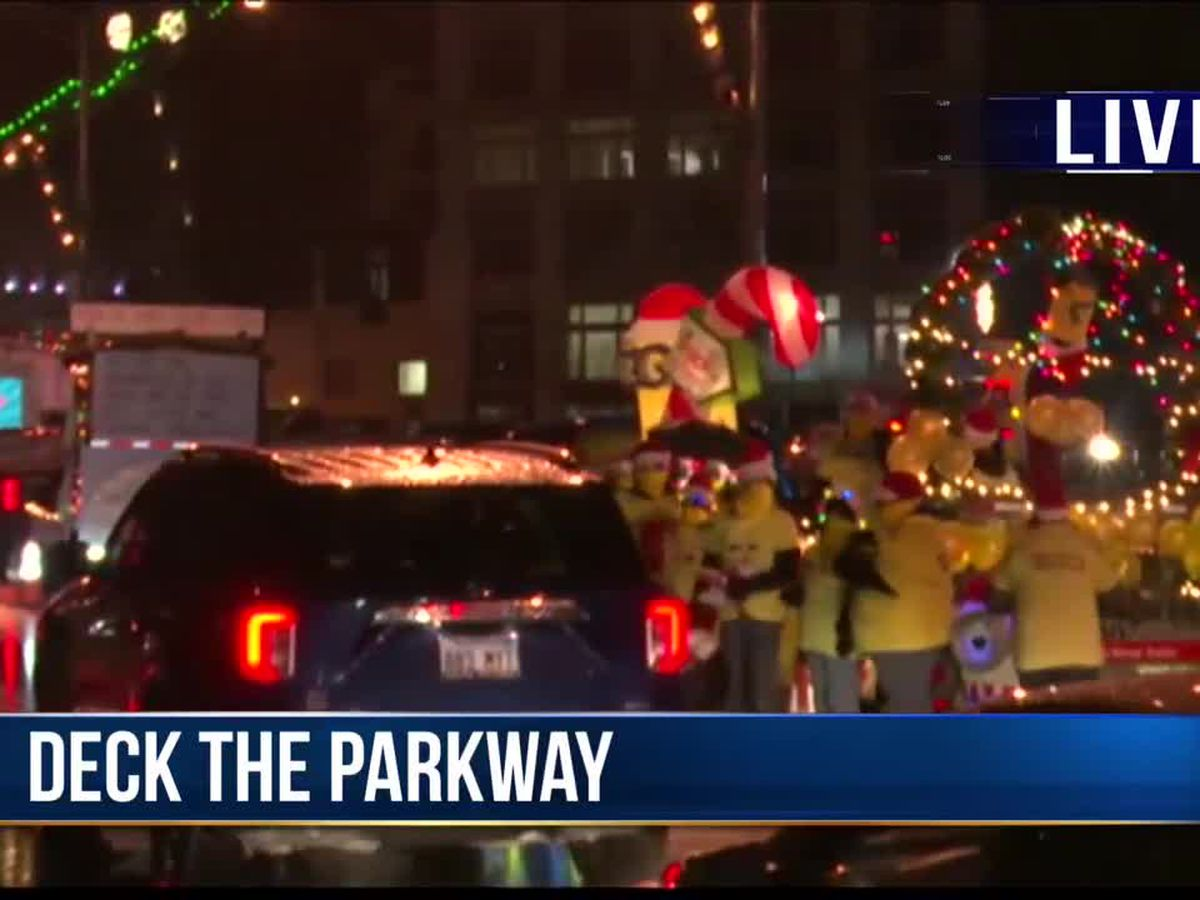 Deck the Parkway: Watertown holds reverse Christmas parade during pandemic