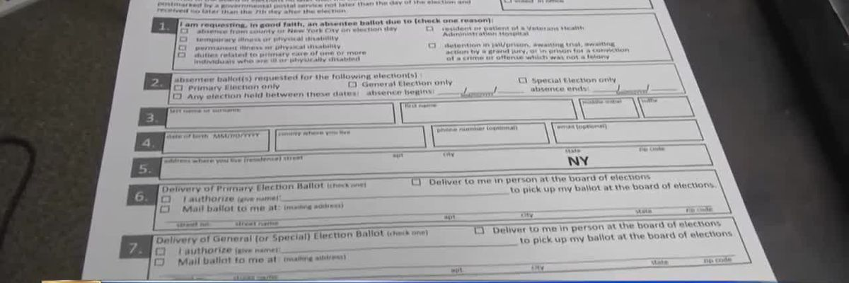 WWNY North country sees surge in absentee ballot requests