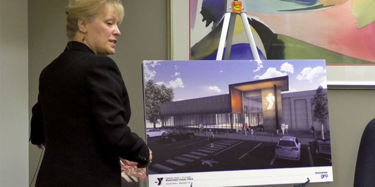 YMCA unveils plans for new downtown Watertown facility