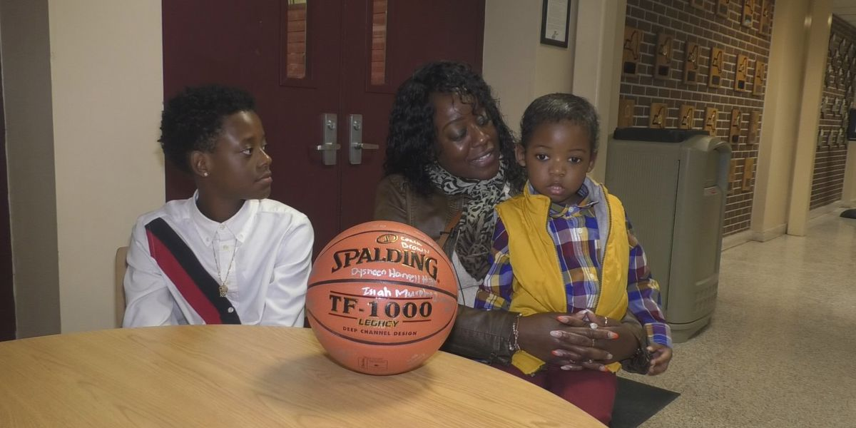 At JCC basketball game, military family gets big surprise