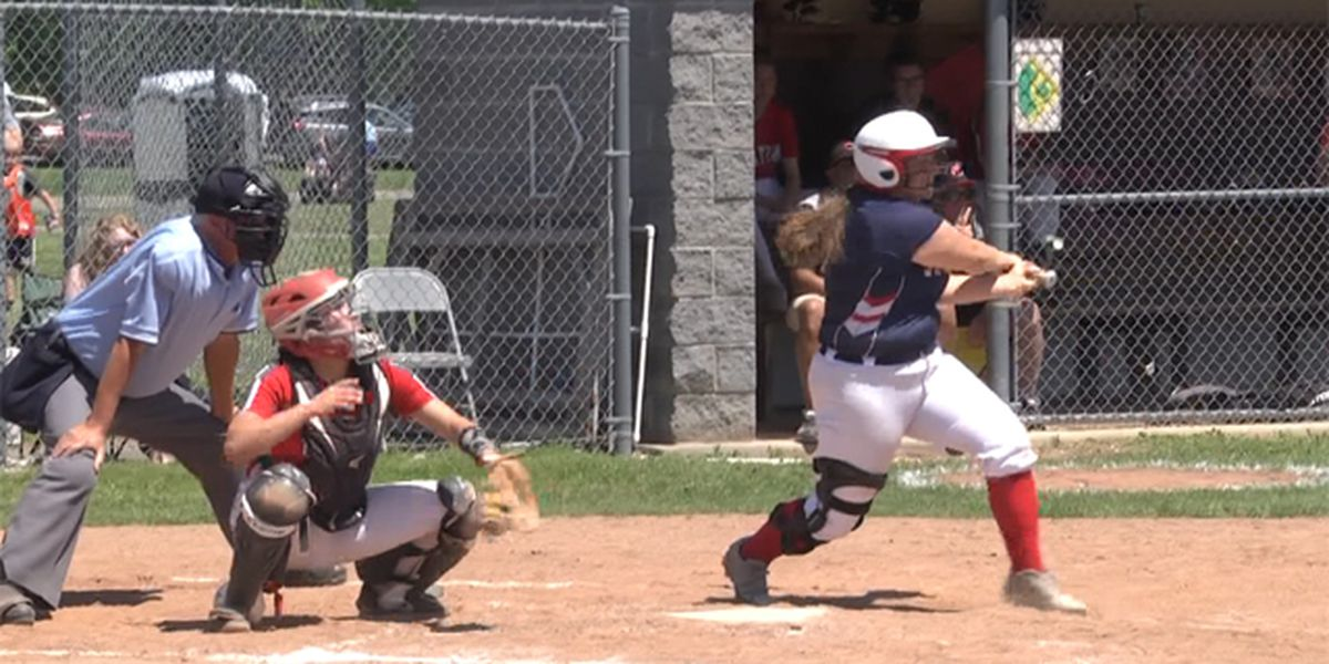 Larries are 2 games away from state Class C softball title