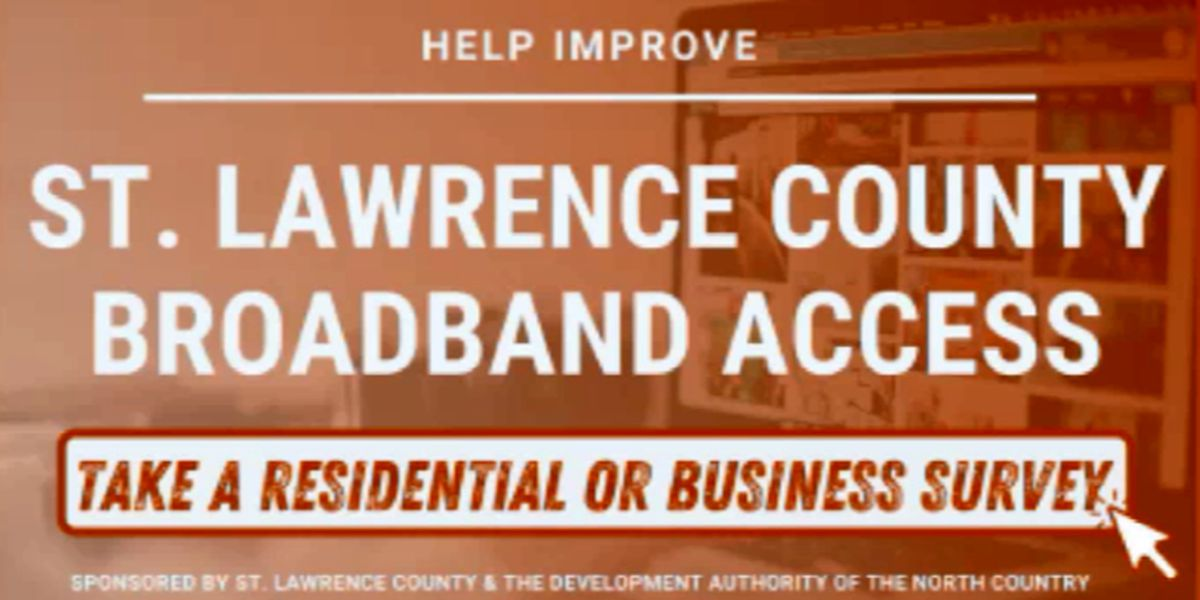 St. Lawrence County uses survey to get handle on broadband problem