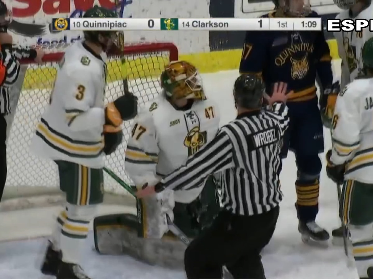 Friday Sports: Heated contest as Clarkson opens weekend series against Quinnipiac