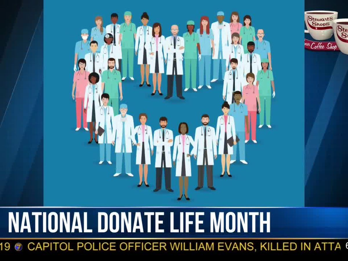Morning Checkup: National Donate Life Month