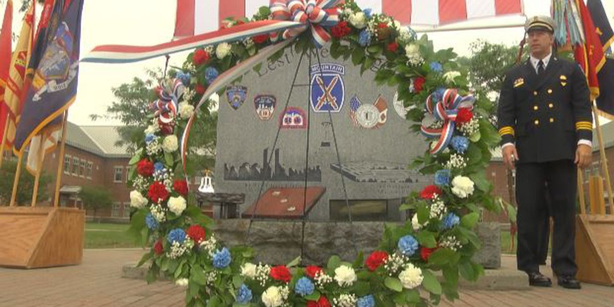 North country observes 9/11 anniversary