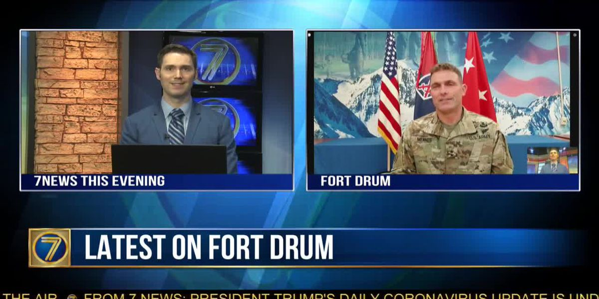 WWNY General Mennes offers updates about Fort Drum soldiers