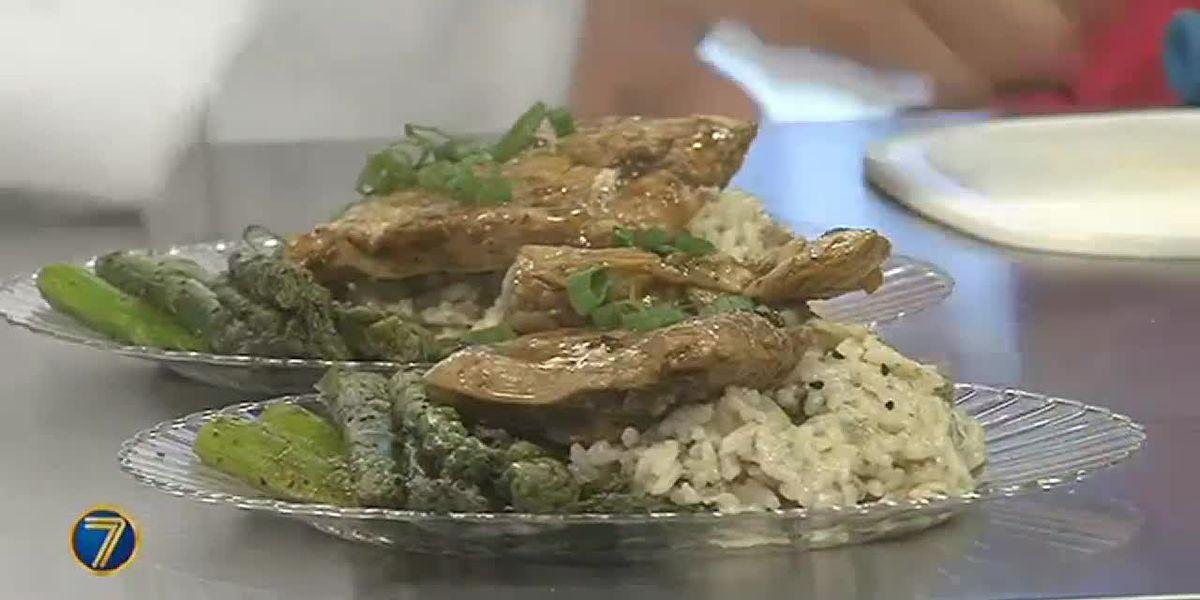 TV Dinner: Key lime grilled chicken