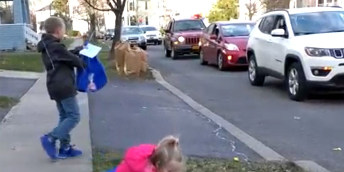 12-year-old surprised by drive-by party