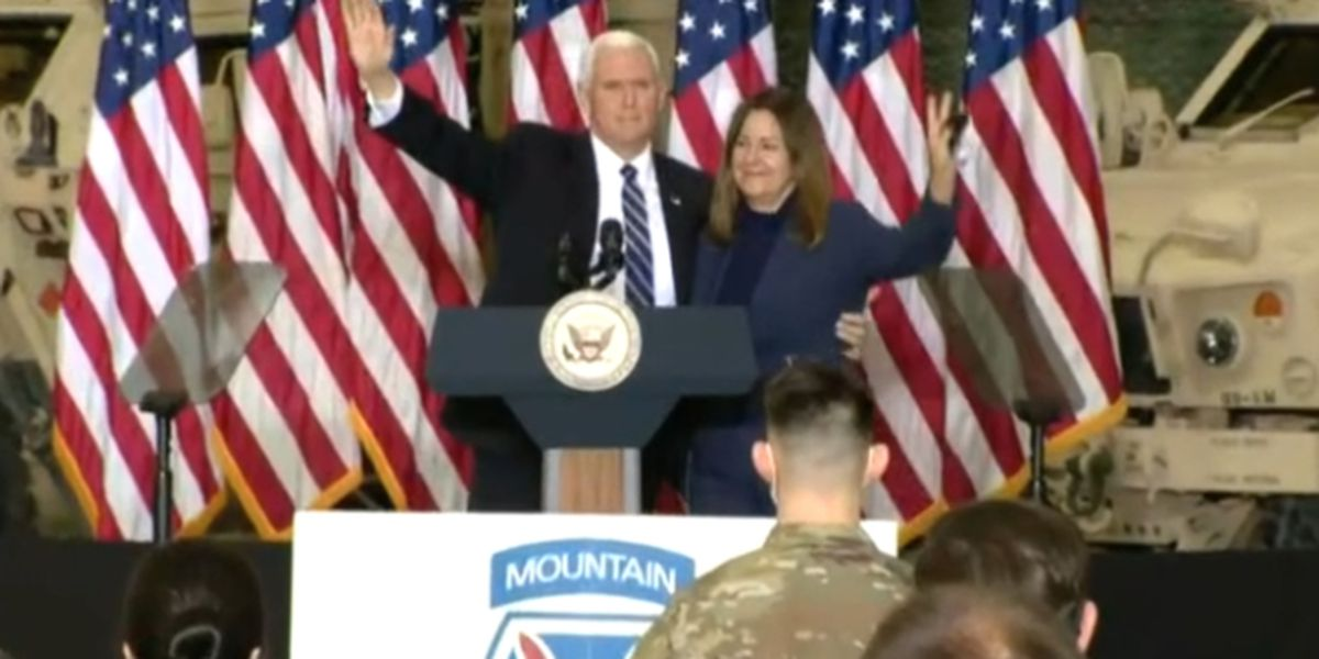 Vice President Pence visits Fort Drum
