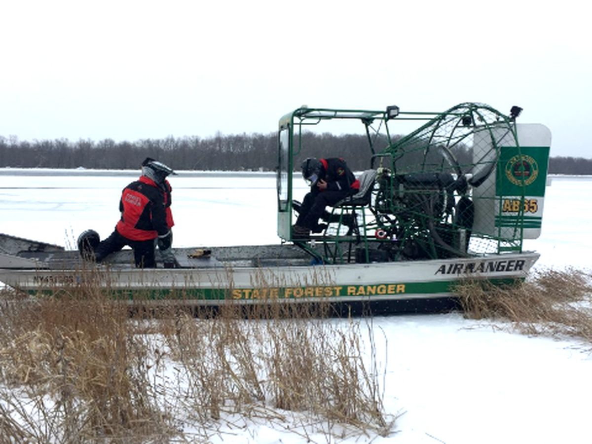 Search on Black Lake halted due to temperatures