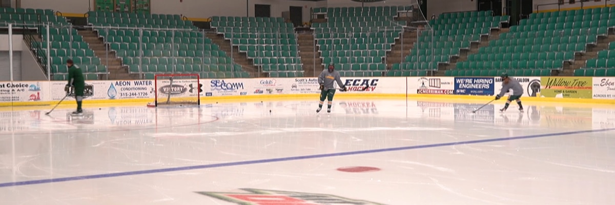 Saturday Sports: Clarkson hockey is back on the ice