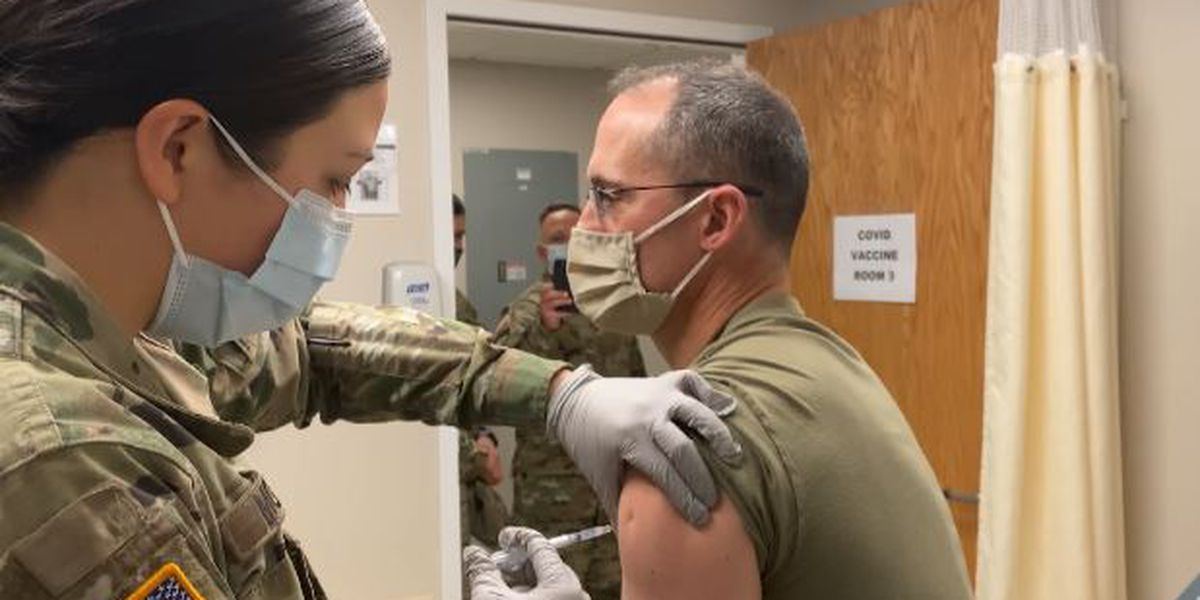 Fort Drum administers its first COVID-19 vaccines