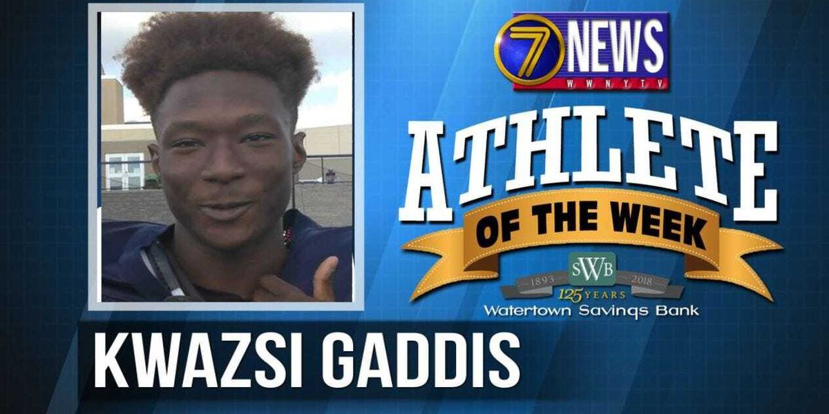 Athlete of the Week: Kwazsi Gaddis