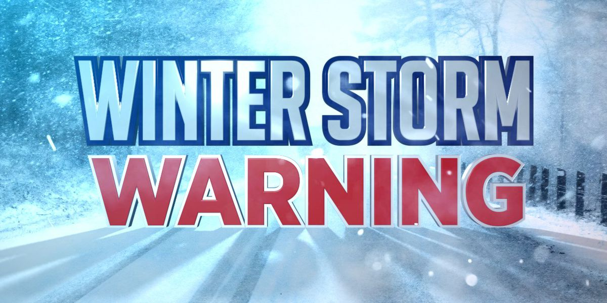Winter storm warning coming up for Jefferson, Lewis counties