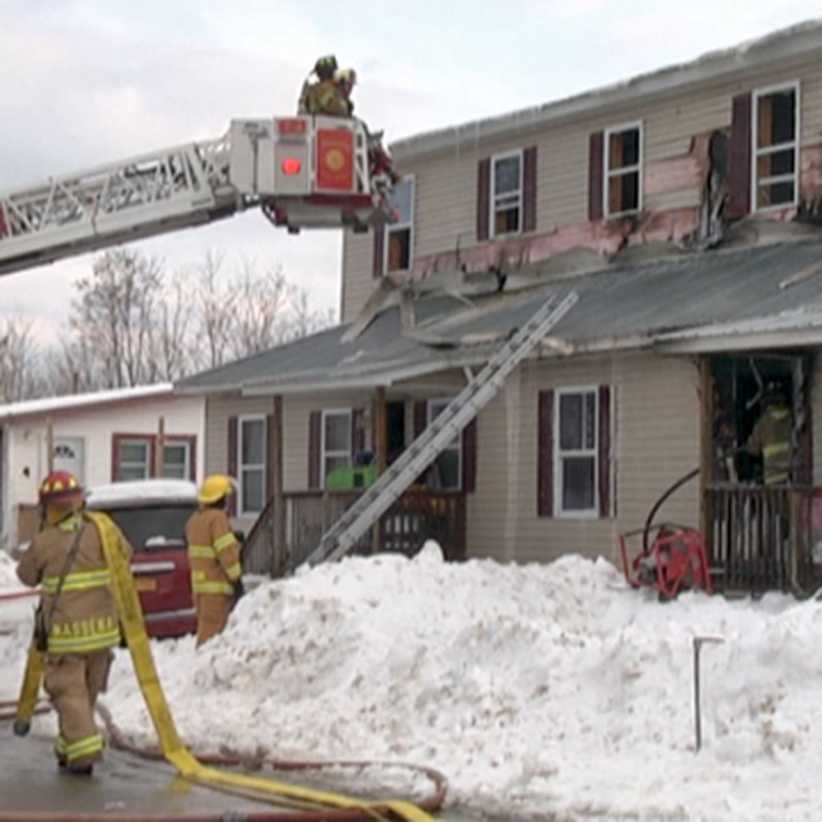 Red Cross: 32 people now need help after Massena fire