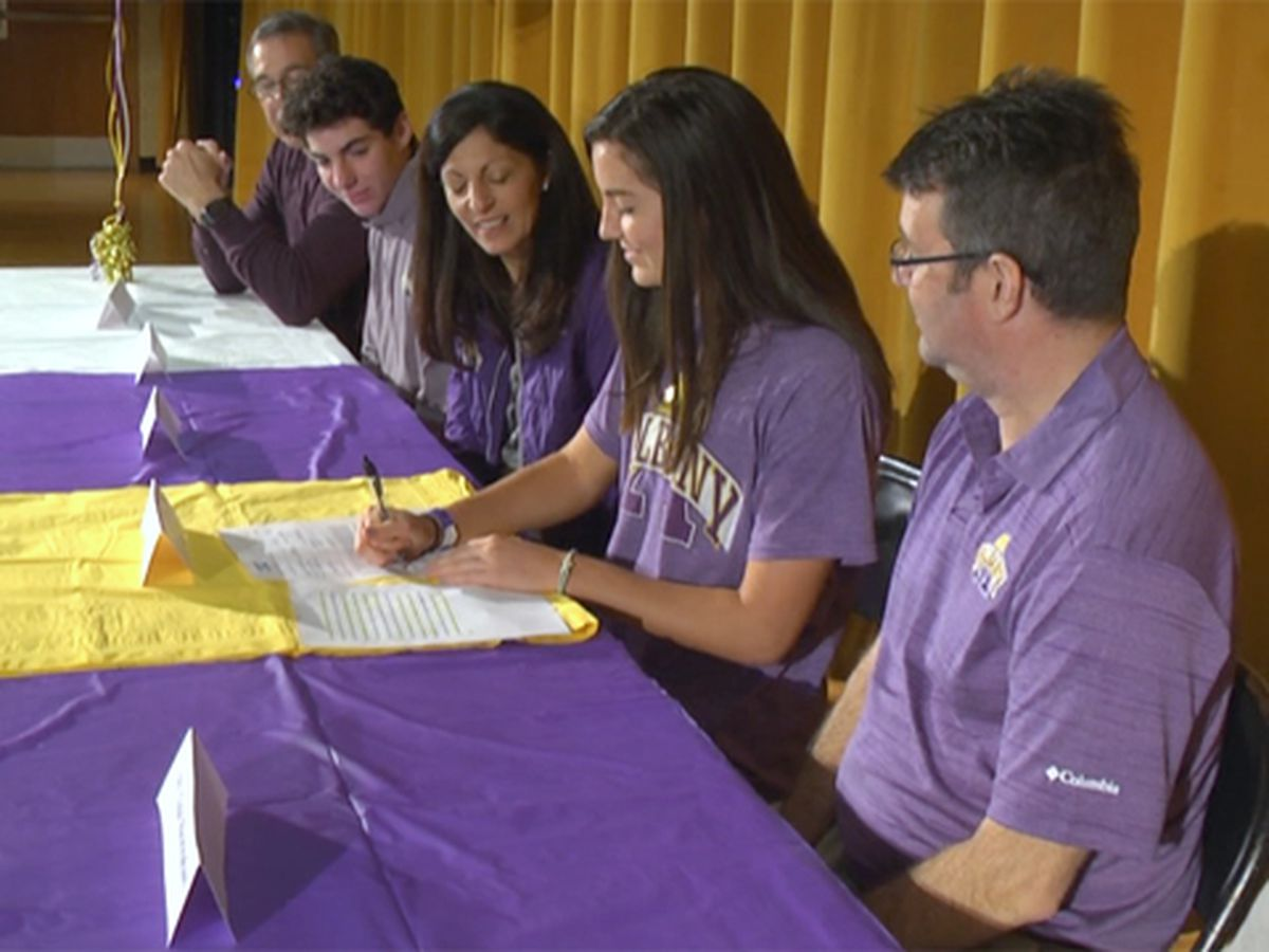 Buckingham signs to play lacrosse at Albany next fall