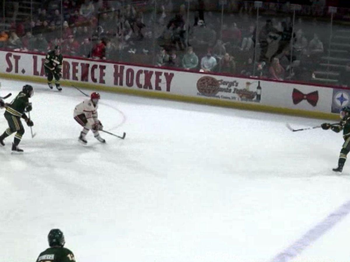 COVID-19 puts SLU-Clarkson hockey schedule on hold