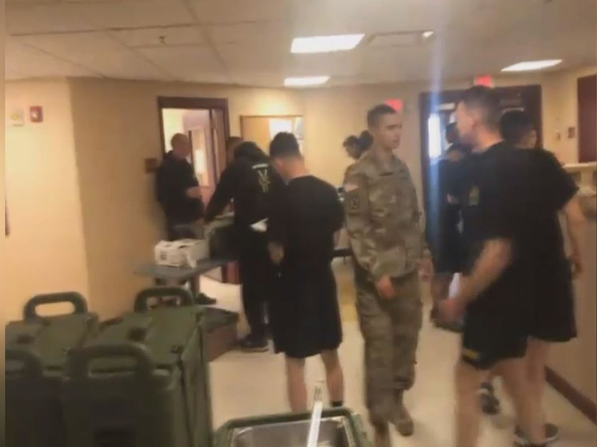An inside look at Fort Drum soldiers in quarantine