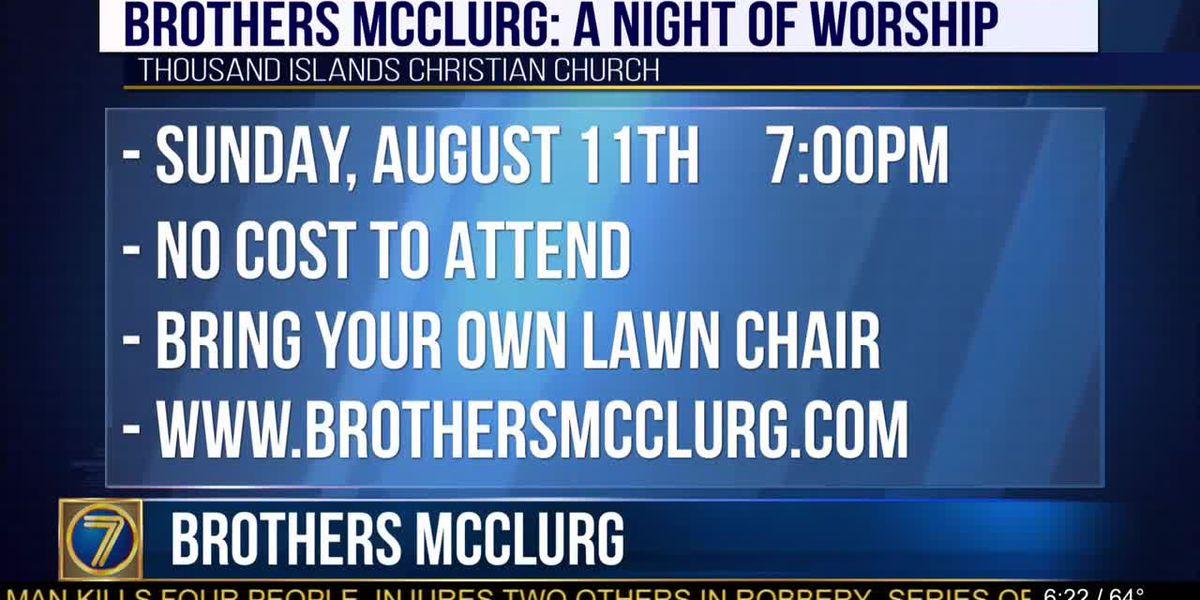 Brothers McClurg at Thousand Islands Christian Church