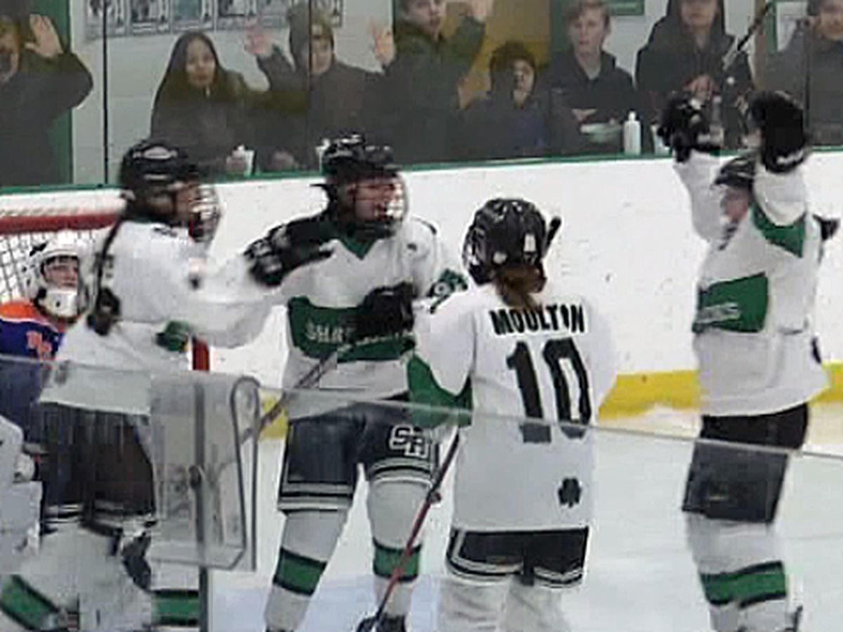 Highlights & scores: girls' hockey & boys' hoops