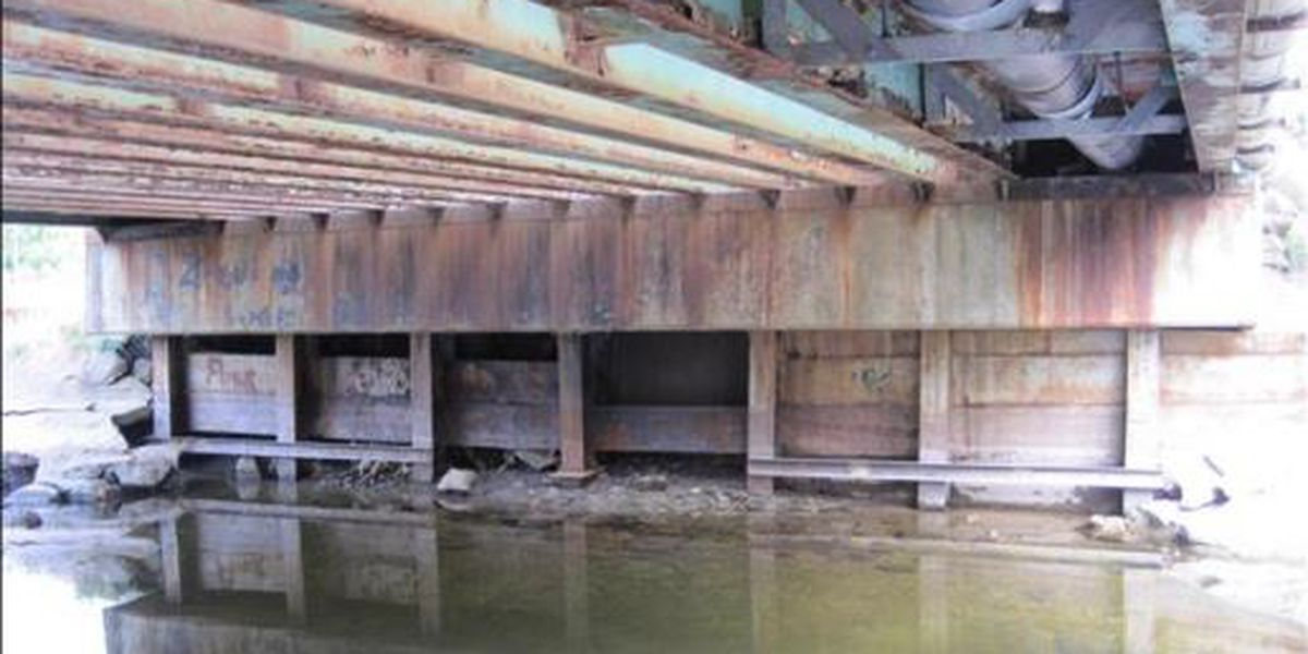 Morristown bridge closed, at risk of collapsing
