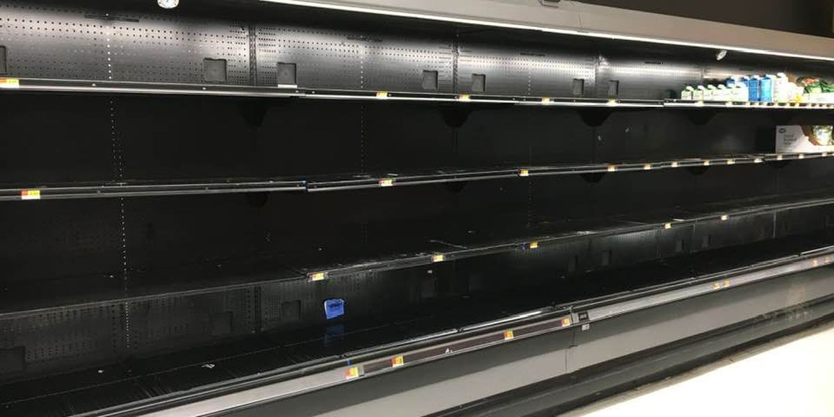 Panic buying is not necessary, TOPS representative says