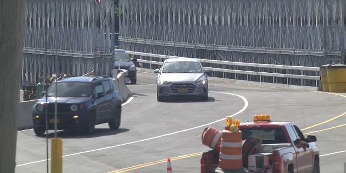 Temporary Arsenal Street bridge is now open