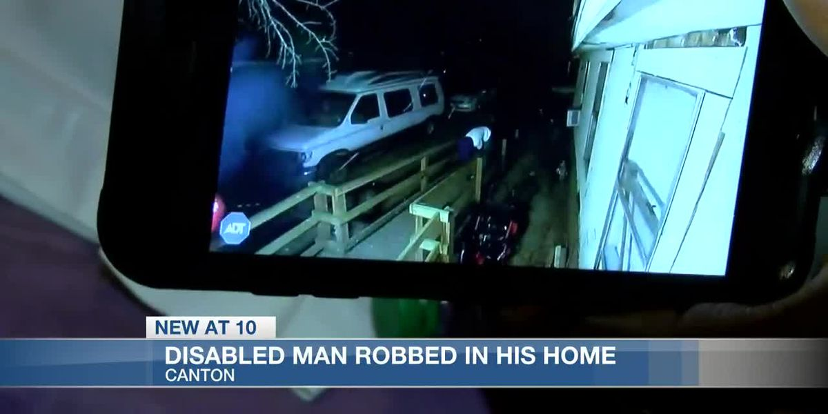 Two suspects rob 53-year-old disabled man at gunpoint in his Canton home