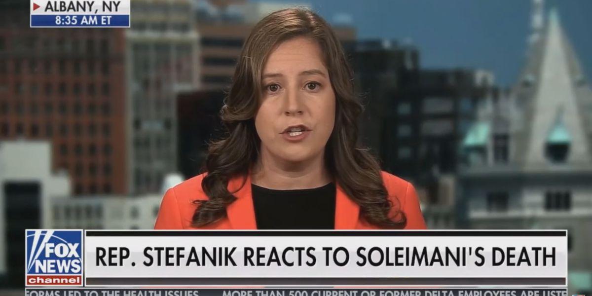 Saturday: Stefanik sounds off on killing of Soleimani