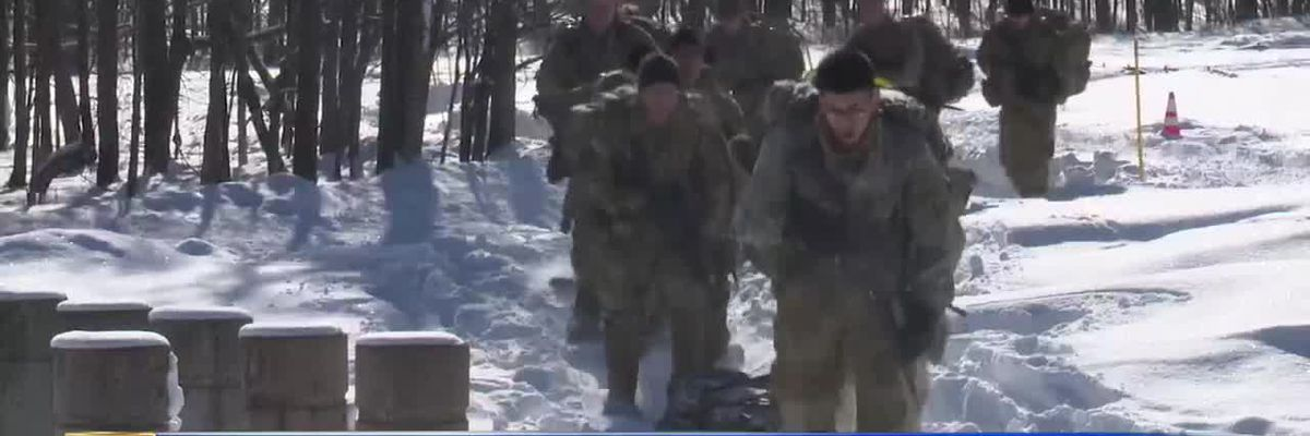 WWNY Fort Drum soldiers commemorate troops' World War II training