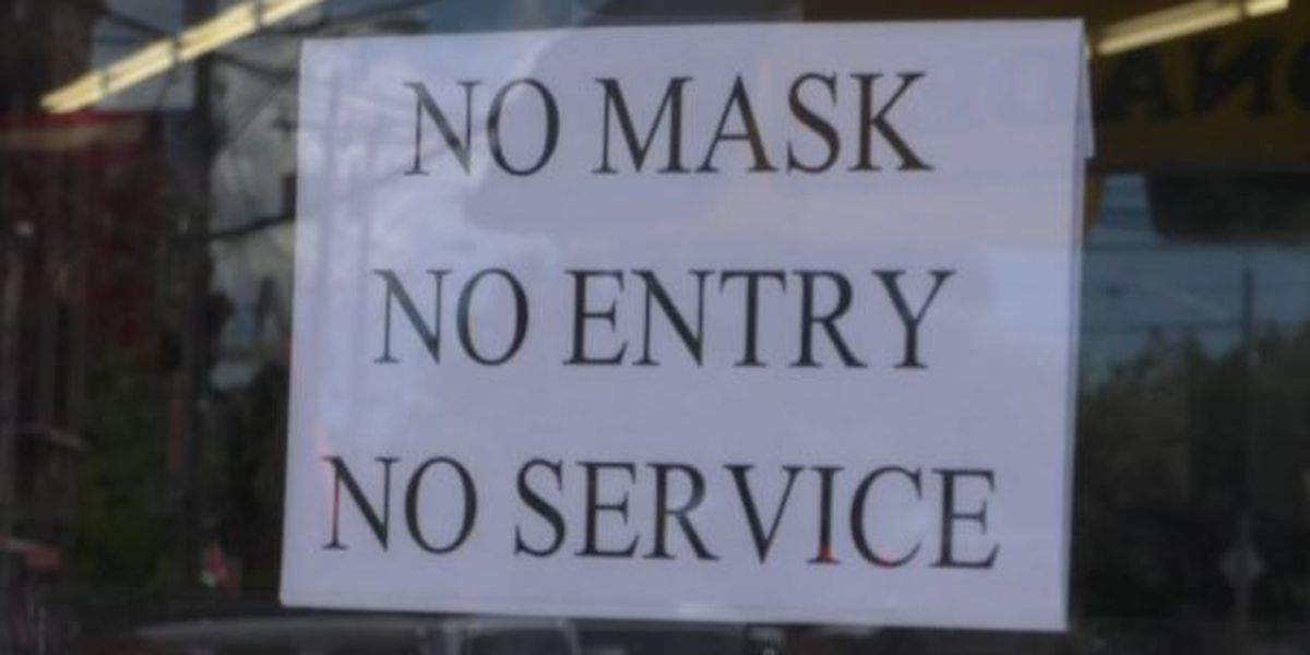 State's crackdown on wearing masks is relief for some businesses