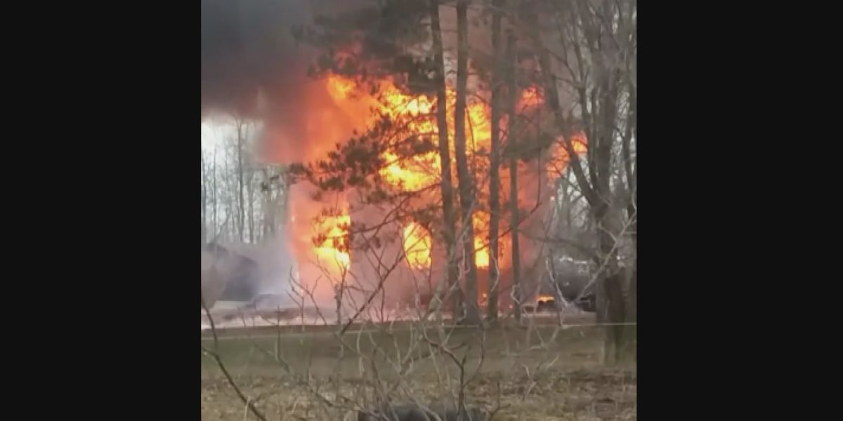 Late afternoon fire destroys a Town of Waddington home