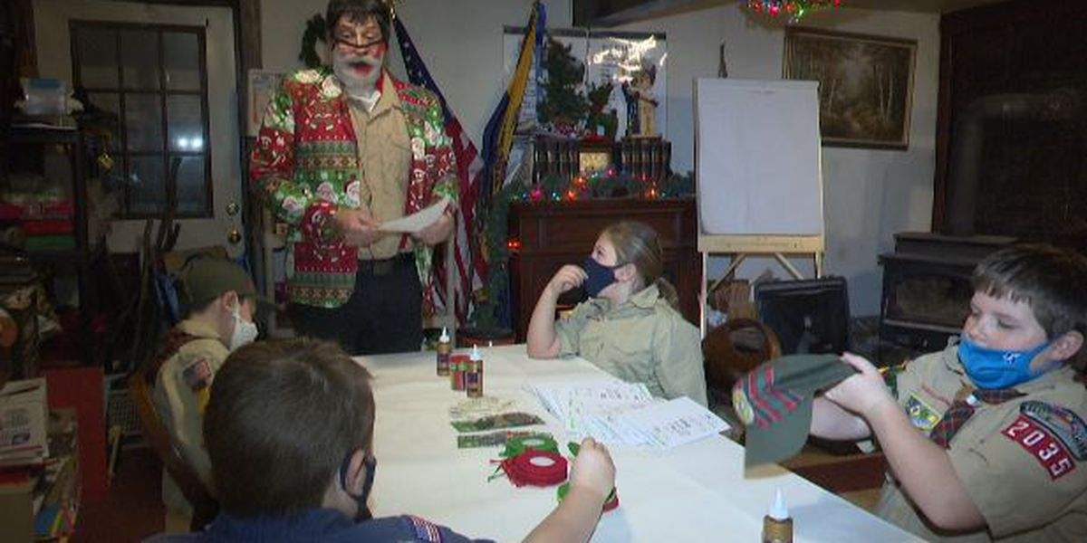 Boy Scout cubmaster keeps pack together during pandemic