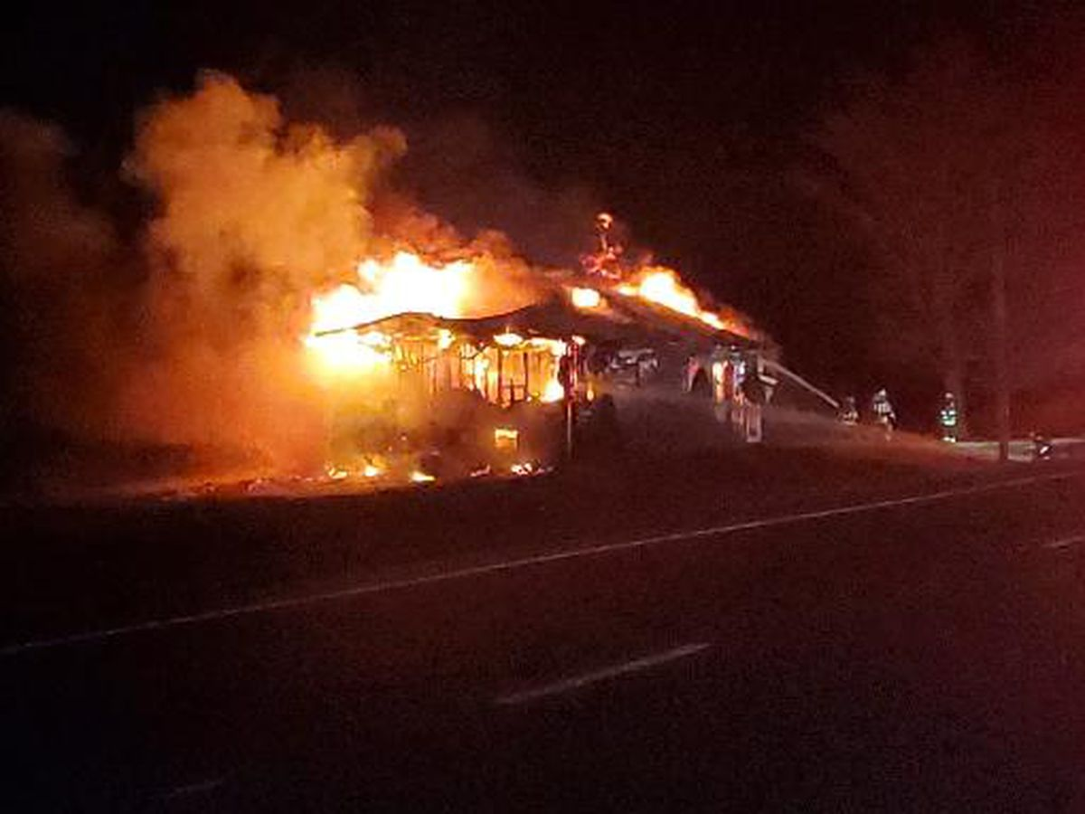 Rutland home destroyed by fire late Saturday night