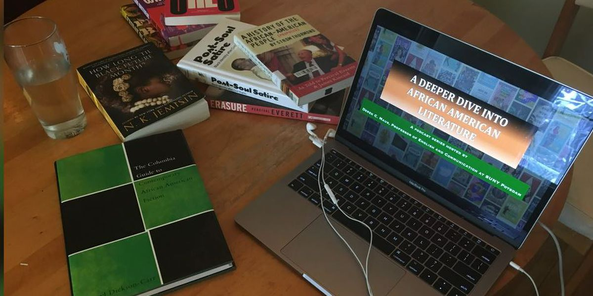 SUNY prof honors Black writers with podcast
