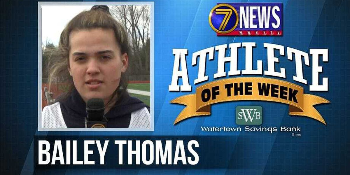 Athlete of the Week: Bailey Thomas