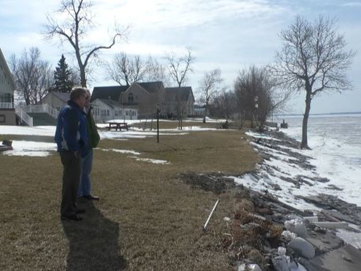 Waterfront property owners await state money for flood protection
